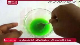 آموزش ساخت اسلایم با محلول لنز بدون پودر بوراکس