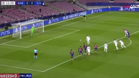 گل اول یوونتوس به بارسلونا (رونالدو - پنالتی)