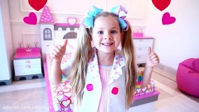 دیانا خانم دکتری برای عروسک ها