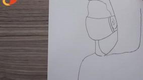 آموزش نقاشی با مداد - شخصیت پسر