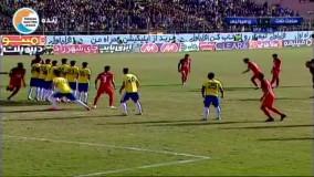 خلاصه بازی صنعت نفت آبادان 0-1 پرسپولیس