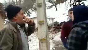 بغض و ناله مردم گیلان از بارش برف