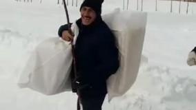 برف نان شب را هم از مردم گرفت!