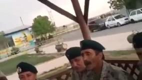 بازخوانیِ ترانه خواننده قدیمی توسط تکاوران ارتش