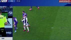 گل اول یوونتوس به فیورنتینا(رونالدو-پنالتی)