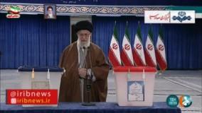 رهبر انقلاب: روز انتخابات، روز جشن ملی است