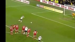 ویدیو؛ گل زیبای وین رونی به فولام در پانصدمین بازی اش در فوتبال انگلیس