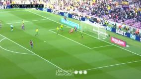 خلاصه دیدار بارسلونا ۵ - ایبار ۰