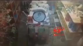لحظه وقوع زلزله در زرآباد آذربایجان غربی