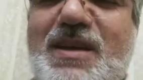 نخستین ویدئو از نماینده تهران که کرونا گرفت