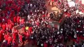 برگزاری کارناوال «نبرد پرتقال» با وجود شیوع کرونا