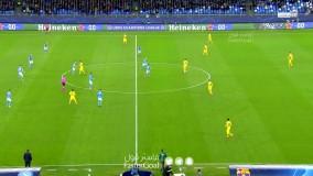 خلاصه بازی ناپولی 1 - بارسلونا 1