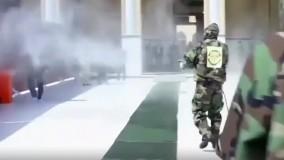 ضدعفونی کردن مسجد کوفه در عراق