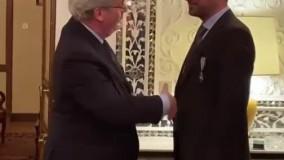شهاب حسینی نشان شوالیه فرانسه دریافت کرد