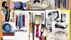 آموزش سیاه قلم ابزارشناسی و معرفی انواع مدادها