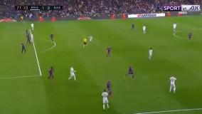 گل اول رئال مادرید به بارسلونا (وینیسیوس)