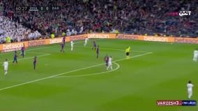 خلاصه دیدار رئال مادرید 2 - بارسلونا 0