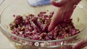 طرز تهیه همبرگر (میرزاشف)