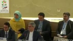 اعلام یک دقیقه سکوت سازمان حقوق بشر سازمان ملل متحد بخاطر تلاشهای پزشکان ایرانی در مبارزه با کرونا