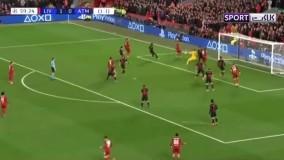 خلاصه بازی لیورپول 2-3 اتلتیکومادرید