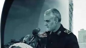 حضور سپهبد قاسم سلیمانی در کاخ تدمر