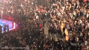هو شدن ترامپ پس از حضور در محل برگزاری مبارزات UFC!2859