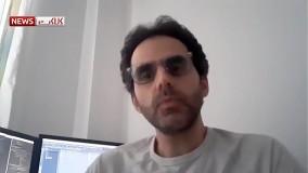 عذرخواهی سازنده کلیپ بارش بادمجان در تهران