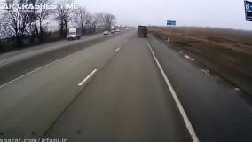 تصادفات رانندگی برف