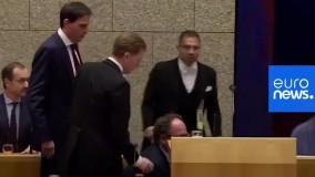 غش کردن وزیر بهداشت هلند از خستگی