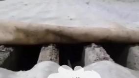 بخاردهی و عمل آوری تیرچه پیش تنیده ایران