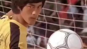 واکاشی زوما از مکتب فوتبال شائولین