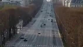 وضعیت خیابانهای پاریس پس از شیوع کرونا