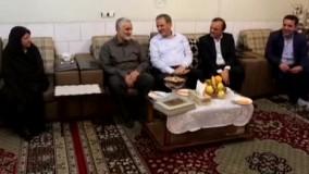 پست جهانگیری درباره دیدار عیدانه با حاج قاسم