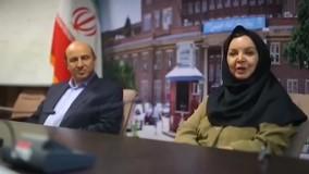 گفتگوی امیرحسین رستمی با مسئولین بیمارستان امام خمینی