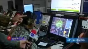 اخطار پدافند هوایی ارتش به یک فروند جنگنده F-18 آمریکا