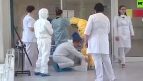 حضور پوتین در بیمارستان بیماران مبتلا به کرونا