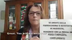 فریاد شهرداران عصبانی ایتالیایی بر سر مردم