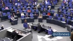 جلسه پارلمان آلمان با رعایت مقررات ضد کرونا