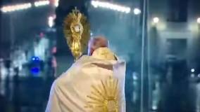 دعاخوانی پاپ برای مردم جهان در میدان سن پیتر