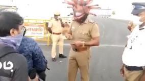 ابتکار پلیس هند برای مقابله با کرونا