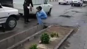 فرار بیمار مبتلا به کرونا از بیمارستانی در سبزوار