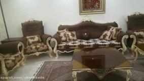 مبل راحتی جلوی تلویزیون چوبکده ایرانیان