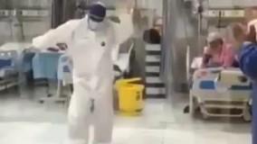 پایکوبی در قرنطینه کروناییها با صدای عارف!