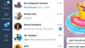 عصر تازه پیامرسانها با آپدیتهای در راهِ تلگرام