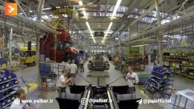 خط تولید کامیون اسکانیا مدل R 730
