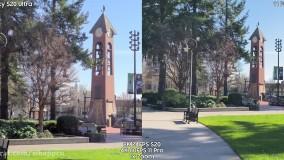 مقایسه دوربین اپل آیفون ۱۱ پرو مکس با دوربین سامسونگ گلکسی اس 20 اولترا