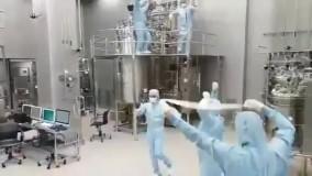 ویدئوی جدید از رقص پرستاران بیماران کرونایی
