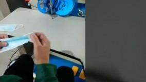 دستگاه نگین نیمه اتومات جهت ساخت ماسک