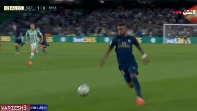 خلاصه بازی رئال بتیس ۲ - رئال مادرید ۱