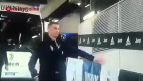 واکنش جالب رونالدو به ورزشگاه بدون تماشاگر